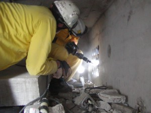 structural collapse breaching